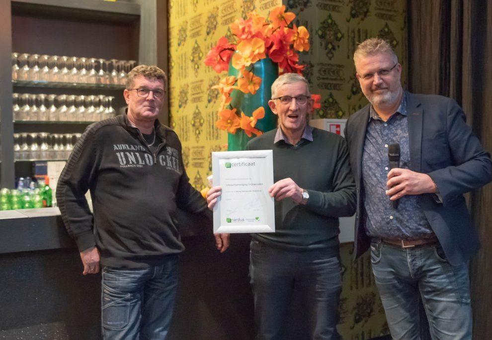 Uitvaartvereniging Trynwalden ontvangt Nardus Gedragscode