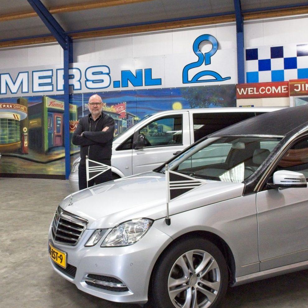 Gert Beimers van Beimers Rouwservice en Uitvaartverzorging