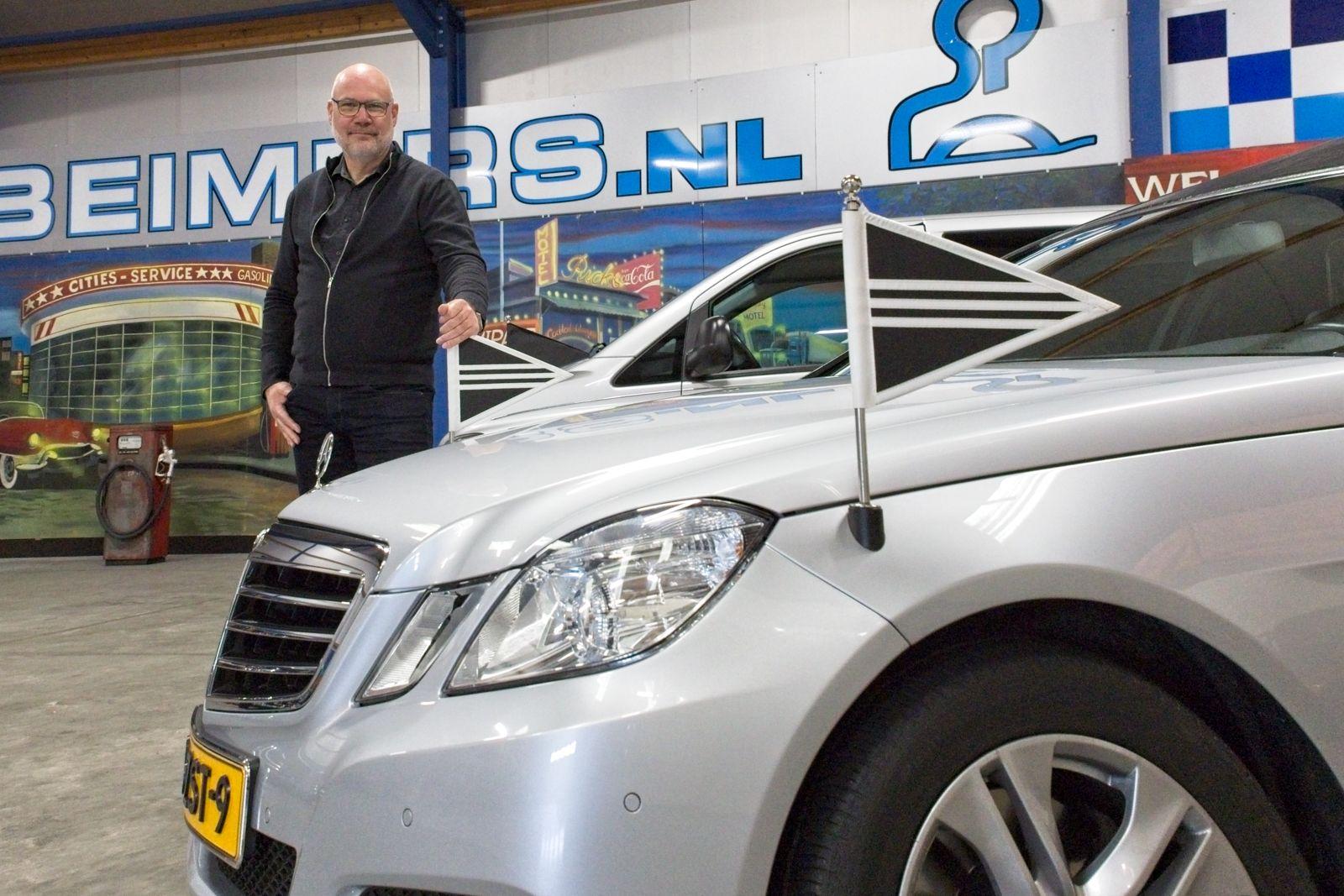 Gert Beimers Van Beimers Rouwservice en Uitvaartverzorging heeft veel met de Friese uitvaartverenigingen.